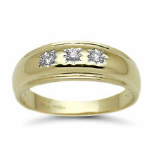 Unbranded Band Round I2 Fine Diamond Rings