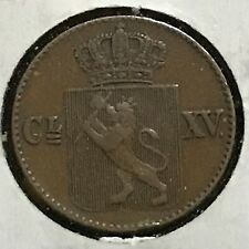 Norway 1/2 Skilling KM 274.1 XF 1867 1 Yr. Type