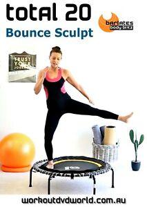 Rebounding and sculpting DVD - Barlates Body Blitz TOTAL 20 Bounce Sculpt