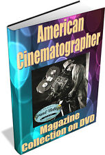 American Cinematographer Magazine Collection on DVD - Movies, Silent Movies