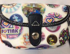 Disney Button Mickey Splash Mountain  Flap Wristlet Wallet Dooney & Bourke