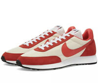 Genuine Nike ® Air Tailwind 79 Retro Trainers in Sail & Red UK Size 9 BNIB