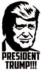 PRESIDENT TRUMP Vinyl Decal Sticker Bumper Wall Window Donald Election 2016