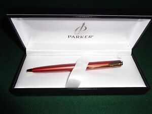 Parker Inflection Fire Red Ballpoint New