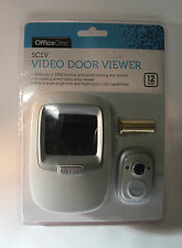 Officeone SC1V Video Door Viewer  -Never Miss any Visitor