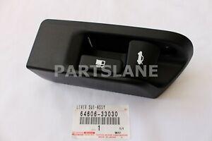 Toyota Camry Yaris OEM Floor Trunk Release Fuel Lid Lock Open Lever 64606-33030