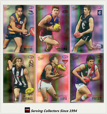 2007 AFL Herald Sun Trading Cards Foil Promo Card Full Set (16)-Rare