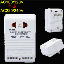 70W Universal Travel Adapter Voltage Converter 110V To 220V Power Transformer