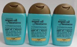 3 Pack - Organix Moroccan Argan Oil Conditioner 2 fl oz