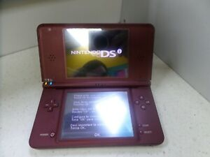 Nintendo DSi XL Handheld Console - Burgundy (120079)