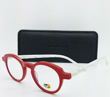 NEW Eyebobs Readers Cabaret 2296 01 (2.00 Strength) Red White AUTHENTIC Round