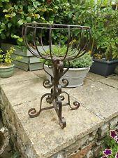 Antique vintage wrought iron Garden Planter.