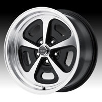 American Racing VN501 500 Mono Cast Machined Black 15x8 5x4.5 0mm VN50158012500