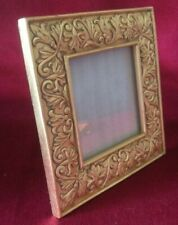 Vintage, Retro, Cast Resin Gilt Square Photo Frame.