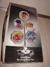Godinger Silver Art Silver Plated Revolving Photo Tree NEW ( Other )