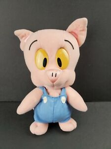 "Vintage Tiny Toon Adventures Hamton J Pig Stuffed Plush 10"" Playskool 1990"