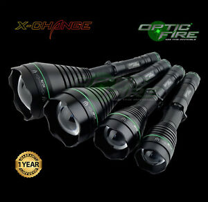 Opticfire® XC LED Hunting torch IR NV night vision scope lamp lamping gun light
