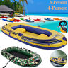 4-Person Inflatable Fishing Boat Kayak Raft Fishing Rafting Water Sports Summer