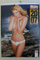 The Sun 2007 Page 3 Calendar ft. Keeley Hazell - Very Rare Collectors  (NEW!)
