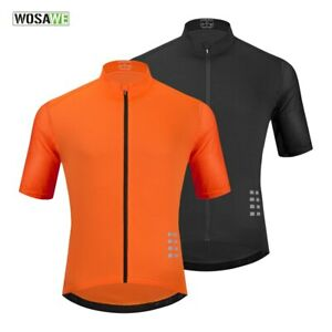 Men Cycling Jersey Mesh MTB Shirt Breathable Mountain Bicycle Cycling Clothing