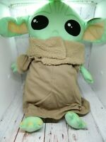 "Star Wars The Mandalorian Baby Yoda Large Plush 18"" Tall Jay Franco NEW NWT"