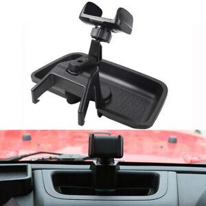Car Cell Phone Holder Mount Rotatable Mount For 2012-2017 Jeep Wrangler JK JKU