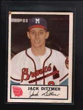 1953 JOHNSTON COOKIES #19 JOHN DITTMER VG-EX D3829