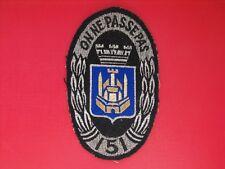 N°74 insigne militaire armée écusson patch 151 Régiment d'Infanterie 151e RI
