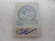 Bruce Jenner 1/1 autograph Caitlyn signed LEAF Print PLATE legends of sport auto