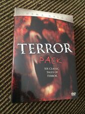 Cinema Deluxe Terror Pack (DVD, 2005, 6-Disc Set) NEW SEALED