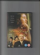 ANNE FRANK - Mini Series. Ben Kingsley, Brenda Blethyn, Hannah Taylor Gordon(DVD