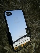 SEAT APPLE IPHONE 4 4S METAL ALUMINIUM MIRROR HARD CASE IBIZA LEON