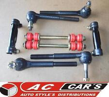 2 Inner 2 outer Tie rod ends 2 Sleeves 2 links replacement suspension steering