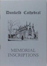 Book: Dunkeld Cathedral Scotland Memorial Gravestones and Epitaphs