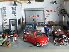 1968 Fiat 500 + 1965 Fiat 500 diecast 1/24