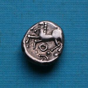 *****Magnifique denier Eduens - Aedui, quinar mbc+, Celtic coin*****