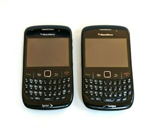 BlackBerry Curve 8530 - Black (Verizon & Sprint) Tested and Working - See Descr.
