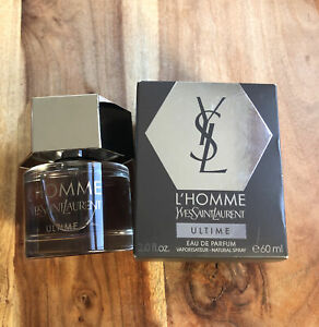 L'Homme Ultime By YSL 2.0oz. EDP. Spray For Men. New In Box. (box is open)