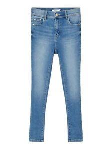 NAME IT Skinny Jeans Hose NKFPolly DNMTindy hellblau Größe 128 bis 164