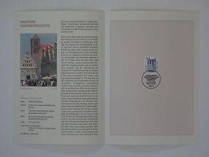 (03j15) Bund Erinnerungsblatt 2003 ESST Mi.Nr. 2323 Sehenswürdigkeiten 4,10 €