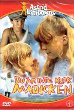 DVD Astrid Lindgren SCHWEDISCH: Du Är Inte Klok Madicken, Madita NEU NEW