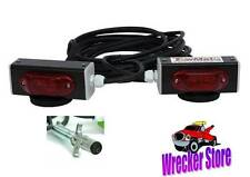 TOWMATE WIRED MAGNETIC LED LIGHTS for TOWING WRECKER TRAILER ROLLBACK TOW TRUCK