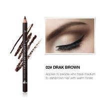12pcs/set Waterproof Eye Brow Pencil Black/Brown Eyebrow Pen Long Lasting Makeup