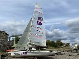 ISO sailing Dinghy racing performance Boat Sails Trolley