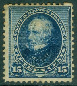 EDW1949SELL : USA 1890 Scott #227 Mint Original Gum. Few perf stains. Cat $200.