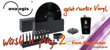 NEW MACHINE A LAVER DISQUE 33T/45T WASH 'N' PLAY 2 ANALOGIS+PRODUIT 165 ml = 5 L