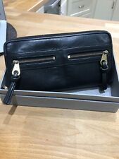 Genuine Mulberry Black Leather Mabel  purse Wallet