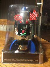 Super Rare Marvin The Martian Collectible Spaceship Alarm Clock 2000 New