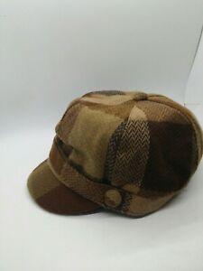 Manhattan Hat Co Women's Brown Newsboy Hat