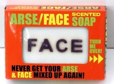 44560 ARSE FACE SOAP NOVELTY GIFT ADULT JOKE CLEANS AWAY